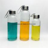 Stock 300ml 420ml 500ml Eau de noix de coco de bouteilles en verre de sport