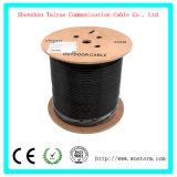 CAT6 cable LAN sin blindaje al aire libre con 1000 pies Waterproof enterramiento directo clasificados Cmx 23AWG de cobre desnudo sólidos