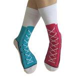 Amazonië kamde Sokken van de Tennisschoen van de Katoenen Sok van de Sport de In het groot Rode
