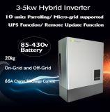 Invertitore ibrido con potere di riserva 5kw e 2 MPPT Inbulit