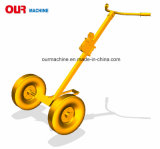 Rad-Öl-bewegliche LKW-Trommel-Karre De450 des China-Lieferanten-450kg 2