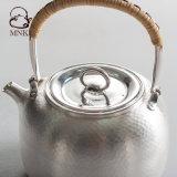銀製の鍋水やかんの銀のやかんの茶鍋