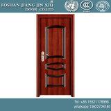 Portello di plastica di alluminio di obbligazione dell'acciaio inossidabile di nuovo disegno di legno rosso