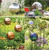 der 10mm~2000mm Spiegel polierte 304 der Edelstahl-hohle Kugel-Garten-Dekoration-hohlen Bereich
