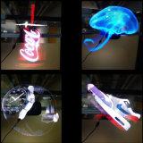L'arrivée du matériel de publicité hologramme ventilateur LED affichage 3D