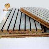 Faible fréquence d'absorber rainurés bois Panneau acoustique