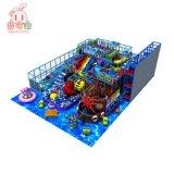O parque de diversões infantil crianças interior temáticos equipamentos de playground