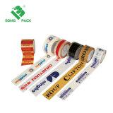 Logotipo personalizado colorido embalaje rollos de cinta adhesiva impresa