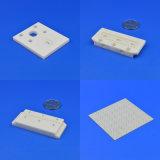 丸型のハンドメイド処理し難いAl2O3アルミナの陶磁器の瓶の陶磁器の版
