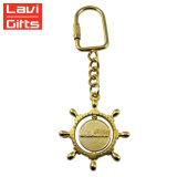 주문품 금속 보라빛 자마이카 항해 금관 악기 닻 Keychain