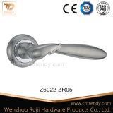 El zinc y aluminio Latón Antiguo de bloqueo de la empuñadura de puerta tire de la empuñadura de puerta