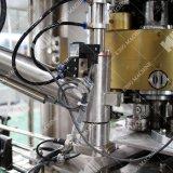 1つのモデル回転式タイプペットアルミ缶の光っている水満ちるシーリング機械に付き自動2つ