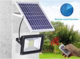 50Wはランプ120 LEDの動きセンサーの庭の屋外の太陽動力を与えられた洪水ライトを防水する