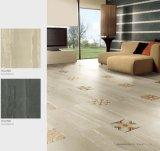 床および壁のための砂岩磁器及び陶磁器の磨かれた艶をかけられた無作法なタイル