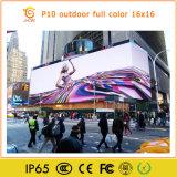 옥외 영상 광고를 위한 저가 P10 발광 다이오드 표시 스크린