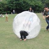 Terrain de jeux pour adultes et enfants bulle football gonflable