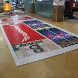 紫外線印刷PVC屈曲の旗440GSMの道路標識の旗