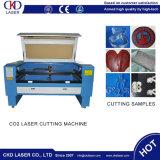 Marcação de acrílico de publicidade plástico gravura a laser de CO2 o corte