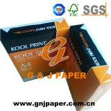 Tamanho A4 Papel de cópia de cor branca para impressão da impressora de fax