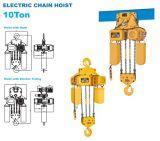 CranesのためのM5 Working Grade 10t Electric Chain Hoist