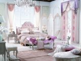 A extremidade alta cama inicial definida Mobiliário de quarto