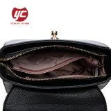 Bolsa de pele genuína de lazer Design Bag Bolsa feminina