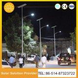 屋外新しいデザインは1つの太陽LEDの街灯のすべてを防水する