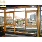 China Proveedor de vidrio de seguridad de alta calidad de la ventana de madera revestidos de aluminio
