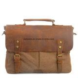 [ردسون] حقيقيّة جلد رجل محفظة حقيبة يغسل نوع خيش [كروسّبودي] رسول حقيبة ([رس-6807])