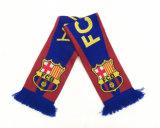 El logotipo de apoyo de fútbol personalizadas Bufanda de invierno