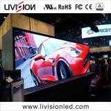 イベントレンタルLEDのビデオ壁P3.91屋内フルカラーのLED表示スクリーン