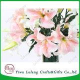 Artificial Calla Lily Tiger Lily Flor de Lis de plástico para el hogar decoración floral de boda