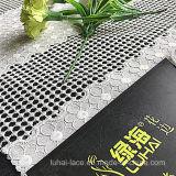 Tejido de encaje de flores para dama ropa de lujo