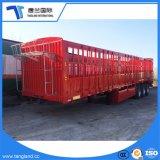 대량 화물 수송을%s 3개의 차축 말뚝 또는 반 담 트레일러