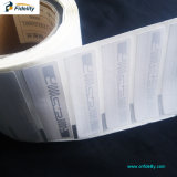UHF RFID 서류상 스티커 레이블, 접근 제한을%s RFID 꼬리표