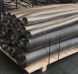 Tubo flessibile metallico flessibile ondulato dell'acciaio inossidabile
