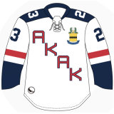 Moda Personalizzata Sublimata Jersey Hockey