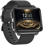 Sport Smart Watch voor heren Android iOS besturingssysteem 2.2 inch touchscreen Mt6580 1g + 16g geheugen, GPS WiFi hartslagmeter IP67 Waterproof Fitness Pedomete