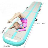 Heet verkoop de Opblaasbare Mat van de Gymnastiek van het Spoor van de Lucht