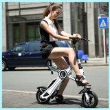 Batterie au lithium Moteur sans brosse 250W Mini vélo électrique miniature pliable