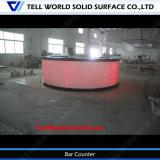 Compteur de bar à lumière LED pour Night Club Modern Design Bar Counter Professional Price