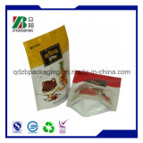 Plastic Zip Lock Stand up Food Packaging with Zipper