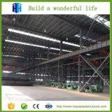 La grande usine d'entrepôt la plus populaire de structure métallique a jeté en vente