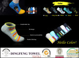Впитывающий проветрите помещение свободного лодыжки хлопка спорта поло Sock