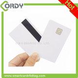 J3D081 cartão chip java Interface dupla Cartão inteligente Java com fita magnética HiCo ou Loco