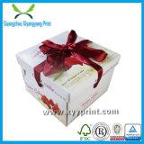 Caixa de convite de casamento de papel de moda a cores com impressão