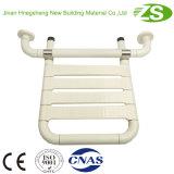 Sede piegante di nylon del bagno di sicurezza fissata al muro per gli handicappati