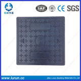 Крышки люка -лаза смолаы квадрата безопасности проезжей части SGS составные