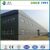 La estructura de acero de construcción de la fábrica para el diseño de moda