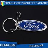Metal profesional calificado aduana Keychain de la insignia del coche